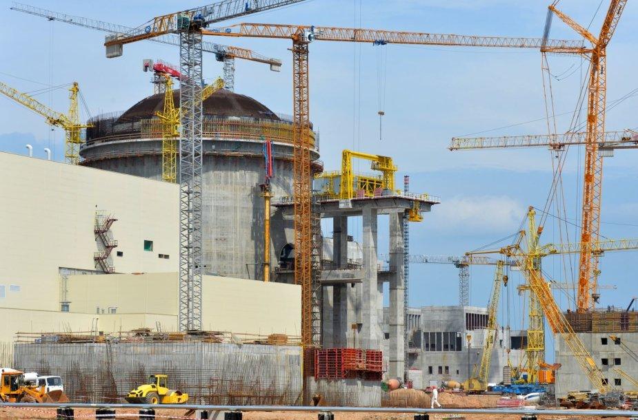 Astravo atominės elektrinės Baltarusijoje statybos