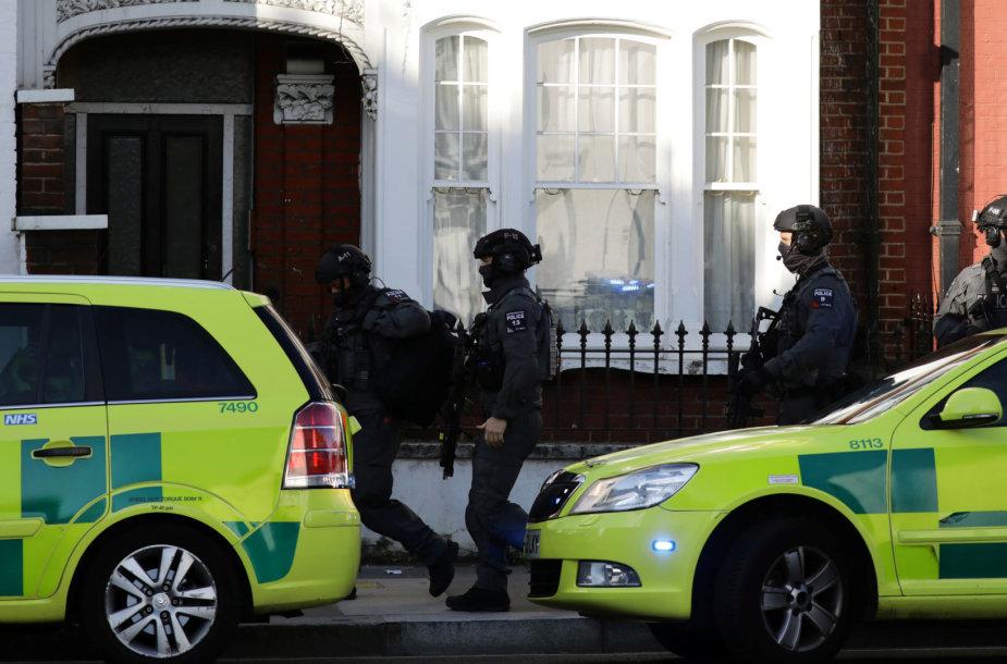 Šalia sprogimo vietos Londone