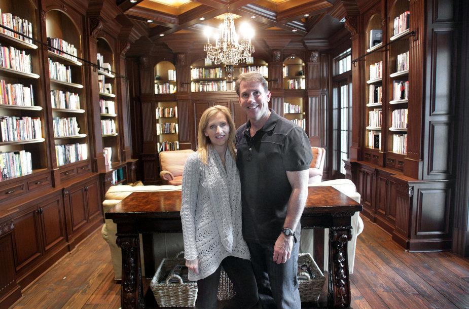 Nicholas Sparks su žmona Cathy