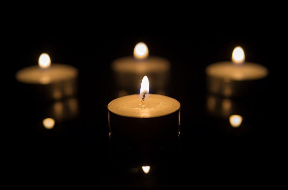 Laidotuvių žvakės