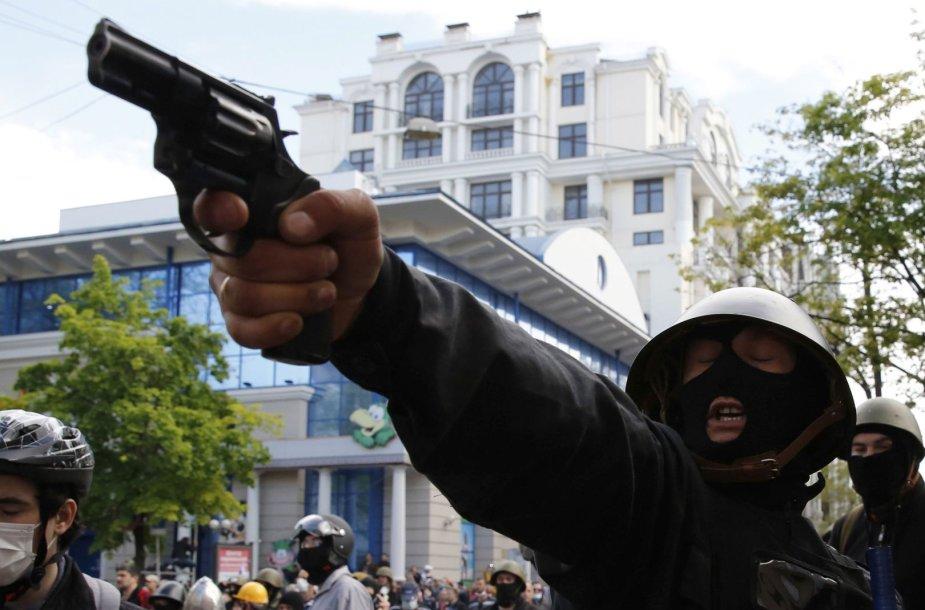 Prorusiškas šaulys Odesoje