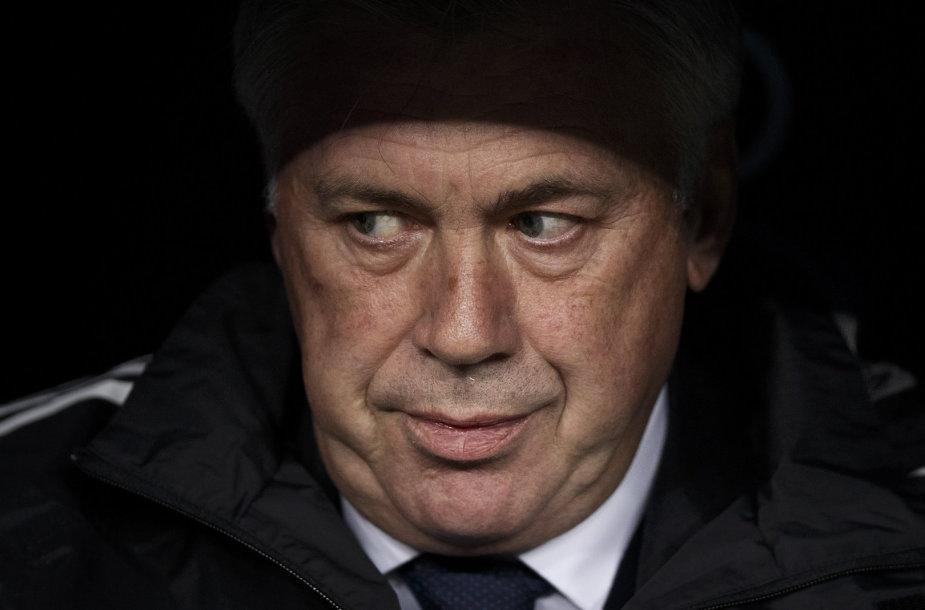 """""""Real"""" treneris Carlo Ancelotti"""