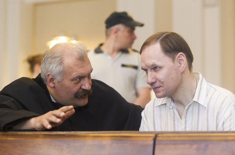 Konstantino Michailovo apeliacinės bylos posėdis birželio 6 d.