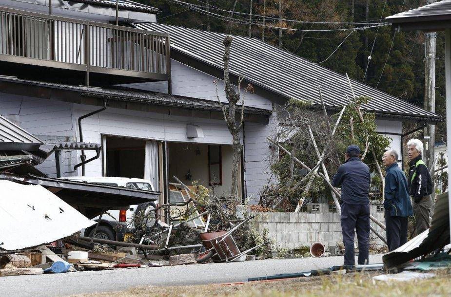Žemės drebėjimo Japonijoje padariniai