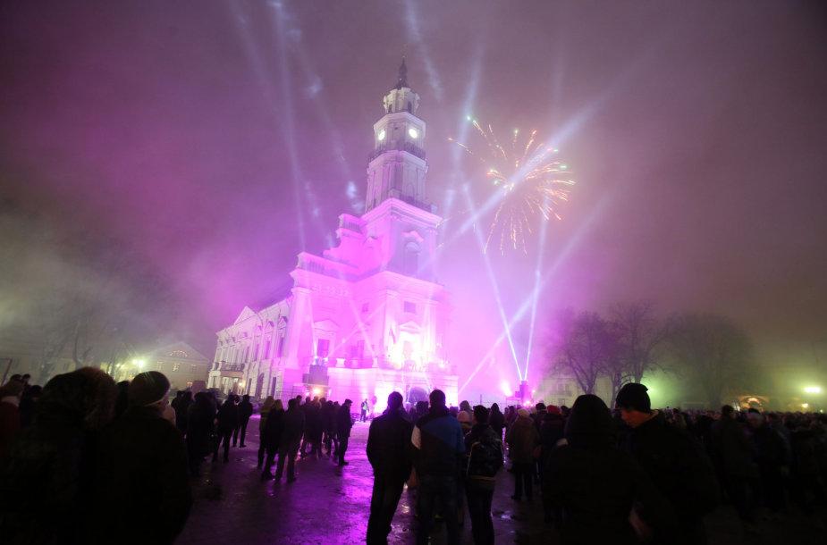 Naujųjų metų sutiktuvės Kaune