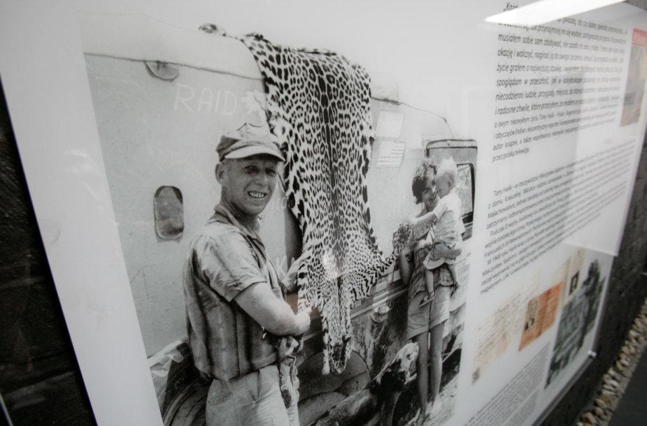 Tony Haliko muziejuje