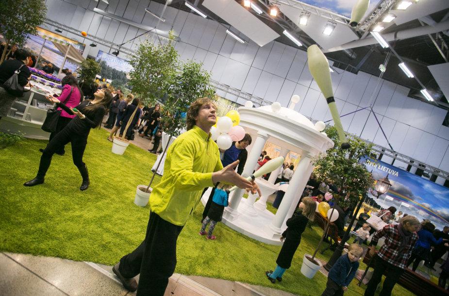 Parodoje daug naujienų pristatė Lietuvos turizmo atstovai