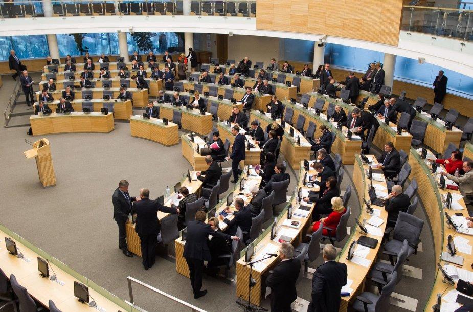 Seime svarstomas 2015 metų biudžetas