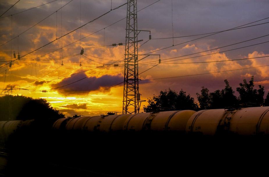 Kelionė traukiniu  iš Neries regioninio parko