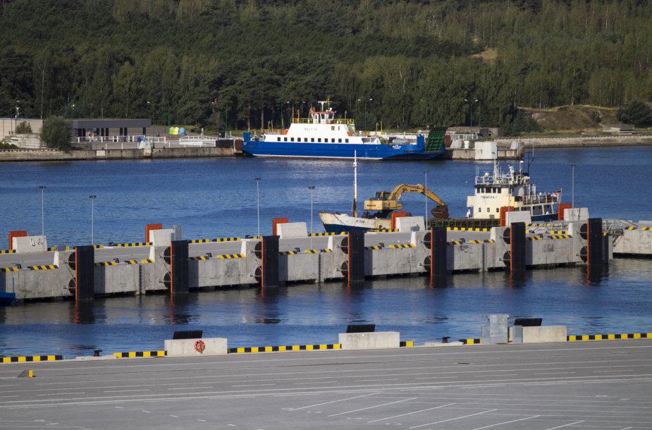 Suskystintų gamtinių dujų terminalo statybos