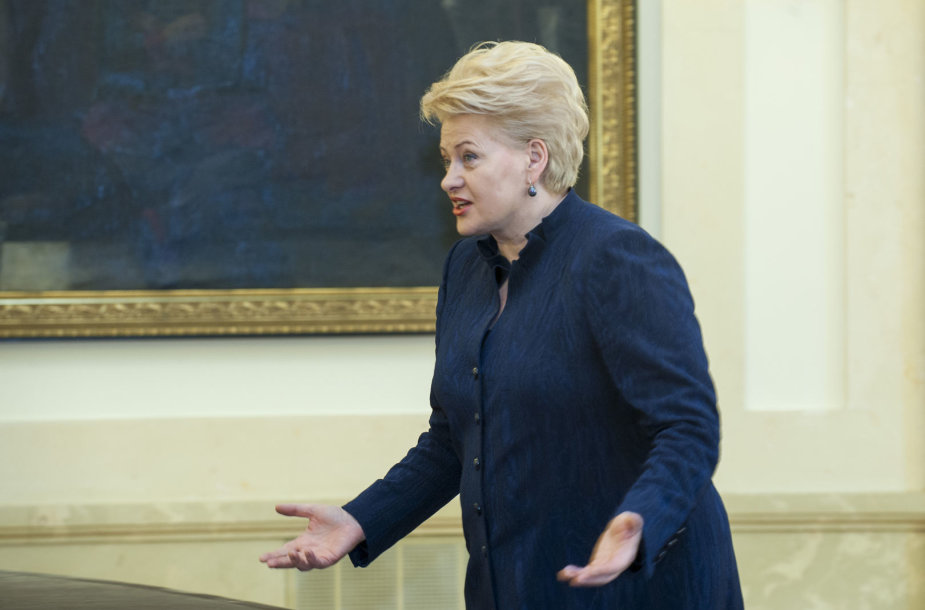 Dalia Grybauskaitė susitiko su ministerijų atstovais