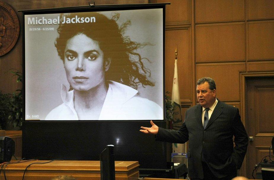 Jacksonų šeimos advokatas Brianas Panishas