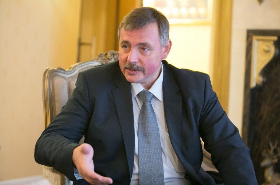 Aleksandras Šapkinas Sankt Peterburgo vyriausybės Turizmo plėtojimo ir vystymo komiteto vadovas