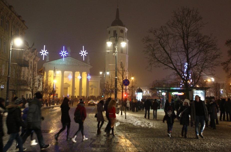 Naujųjų metų sutikimas Vilniuje