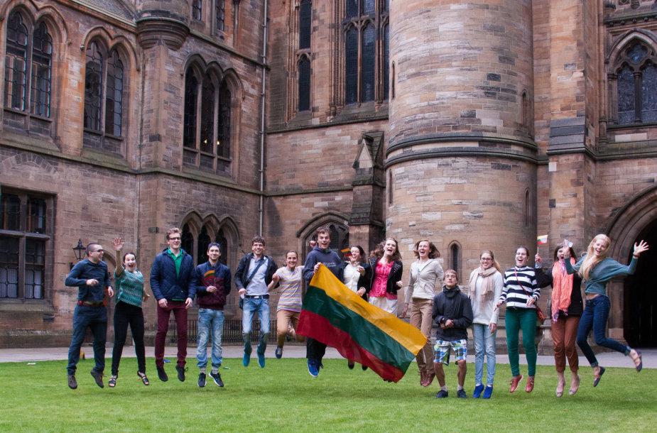 Lietuviai Škotijoje