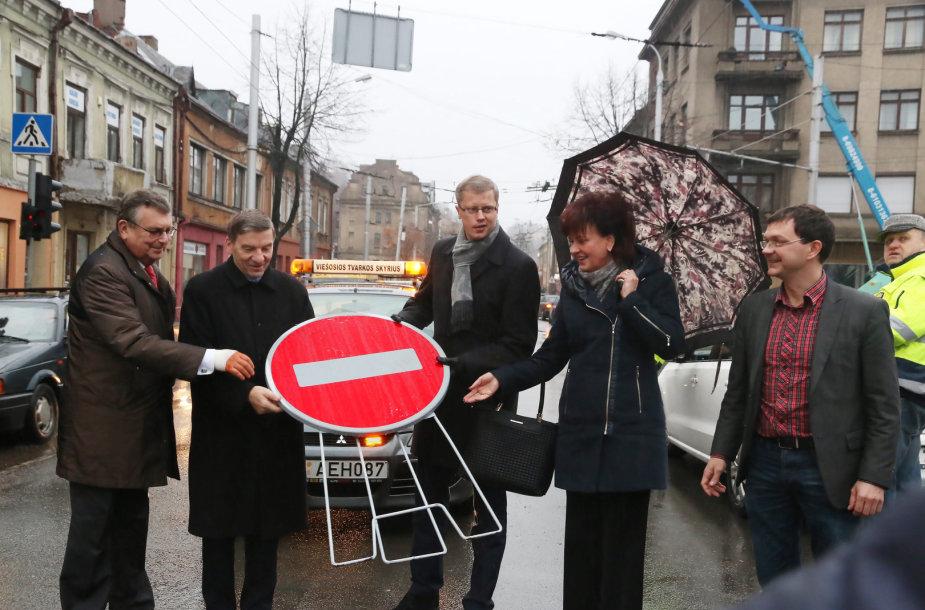 Atidaryta viena svarbiausių Kauno gatvių