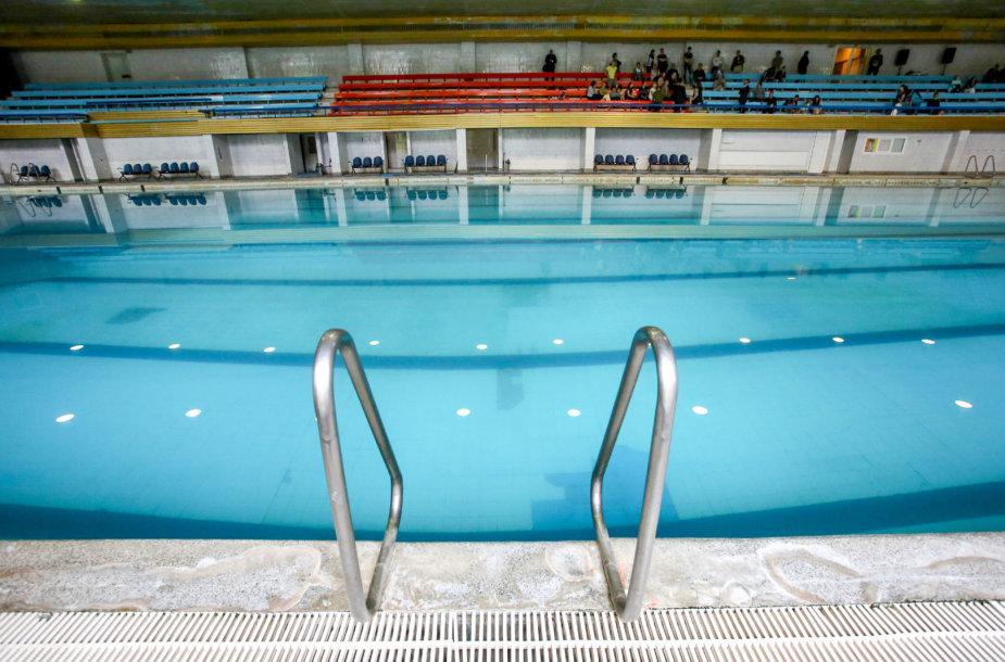 Vilniaus Lazdynų baseinas paskutinį kartą atvertas lankytojams