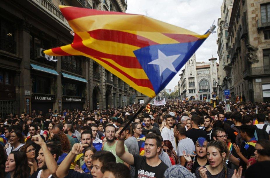 Streikas Katalonijoje