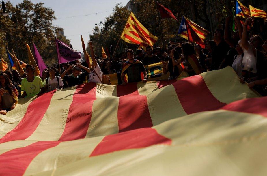 Katalonų demonstracija
