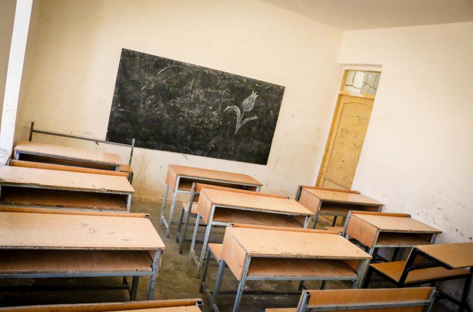 Tokioje mokyklos klasėje sutelpa 40 moksleivių