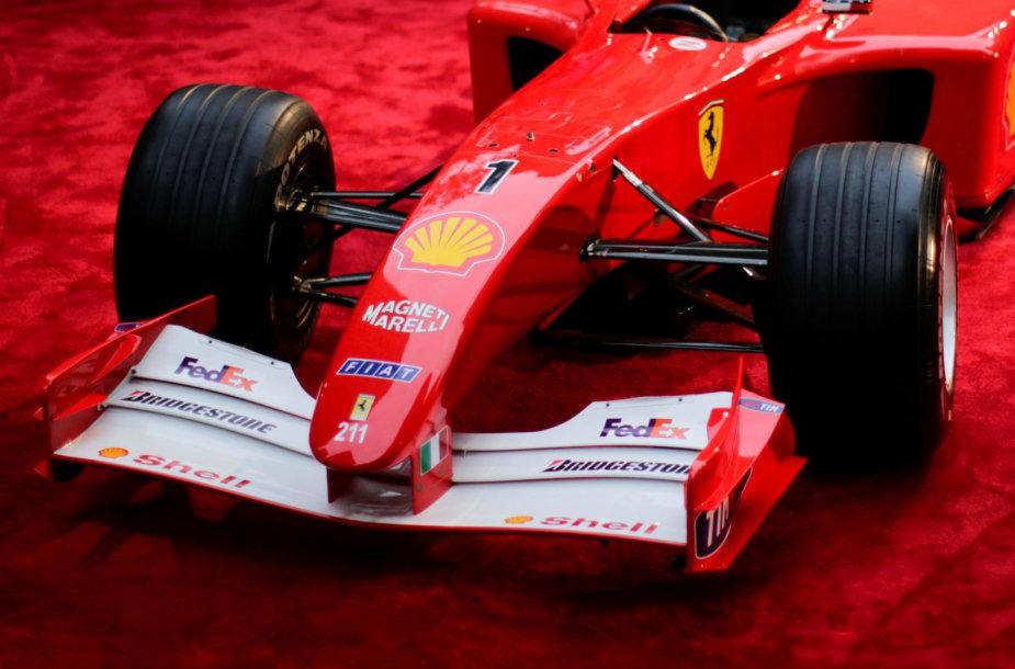 Michaelio Schumacherio bolidas, atnešęs jam pergalę 2001 F1 čempionate