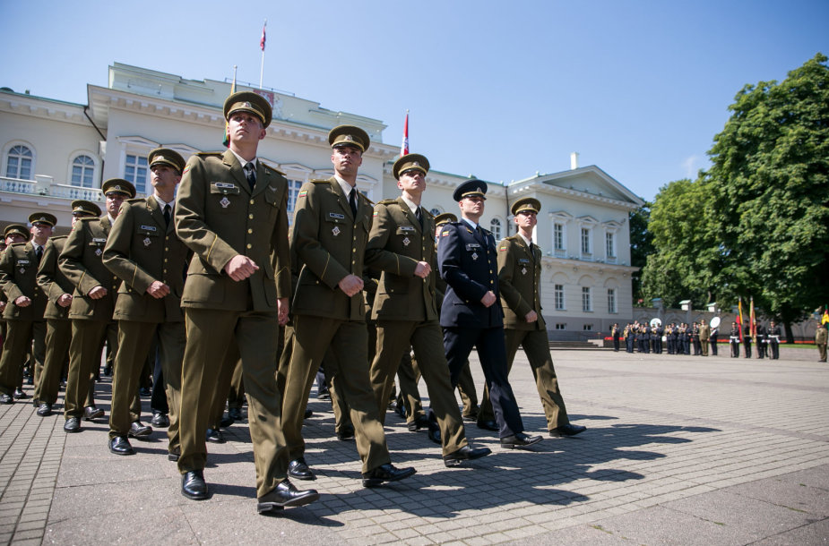 Leitenanto laipsnio suteikimo ceremonija