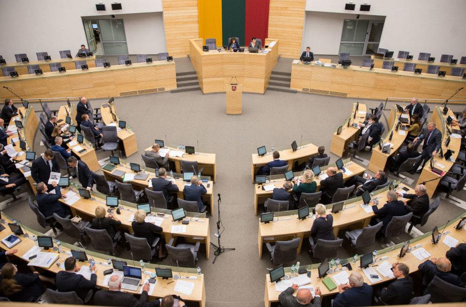 LR Seimo salė