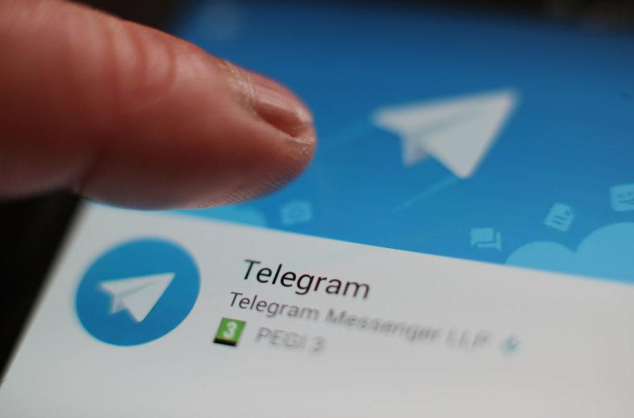 "Mobilioji programėlė ""Telegram"""