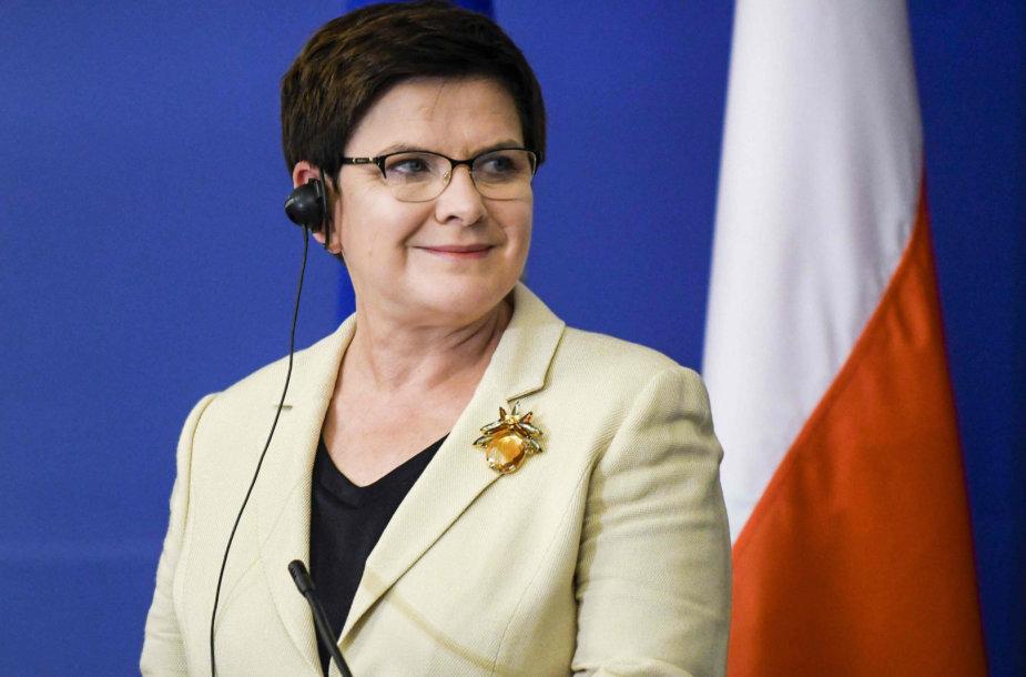 Lenkijos premjerė Beata Szydlo