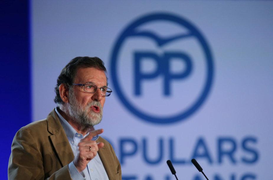 Mariano Rajoy Katalonijoje