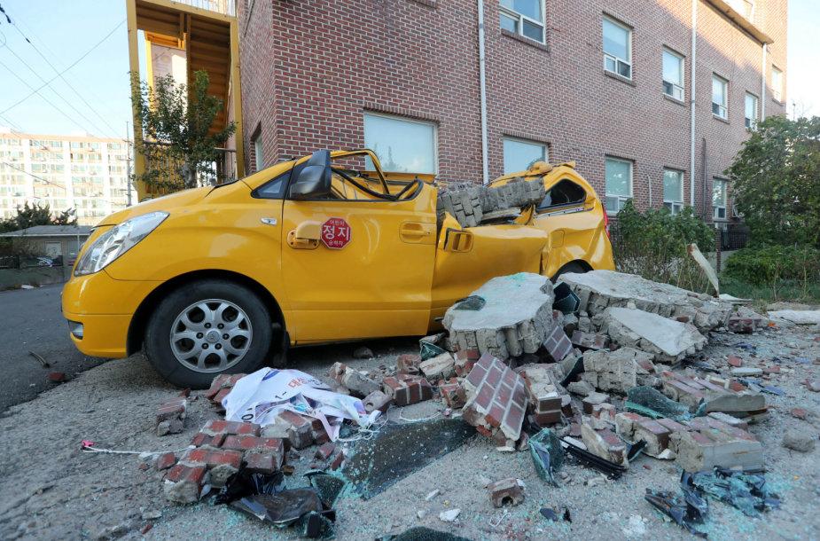 Žemės drebėjimas Pietų Korėjoje