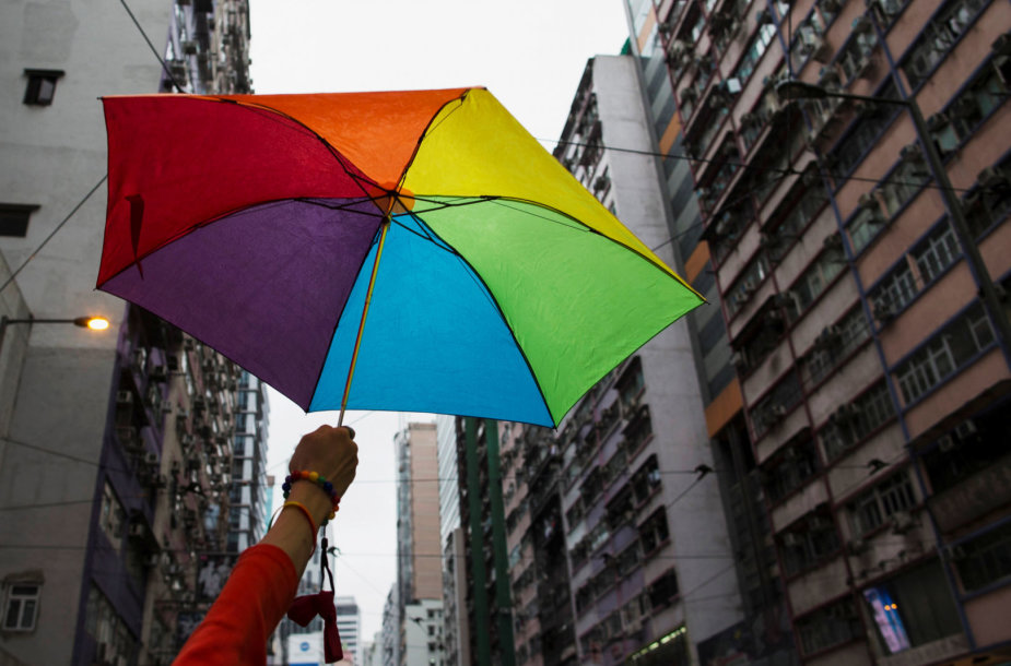 LGBT paradas Honkonge