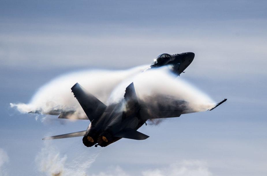 """Naikintuvas bombonešis """"McDonnell Douglas F/A-18 Hornet"""""""