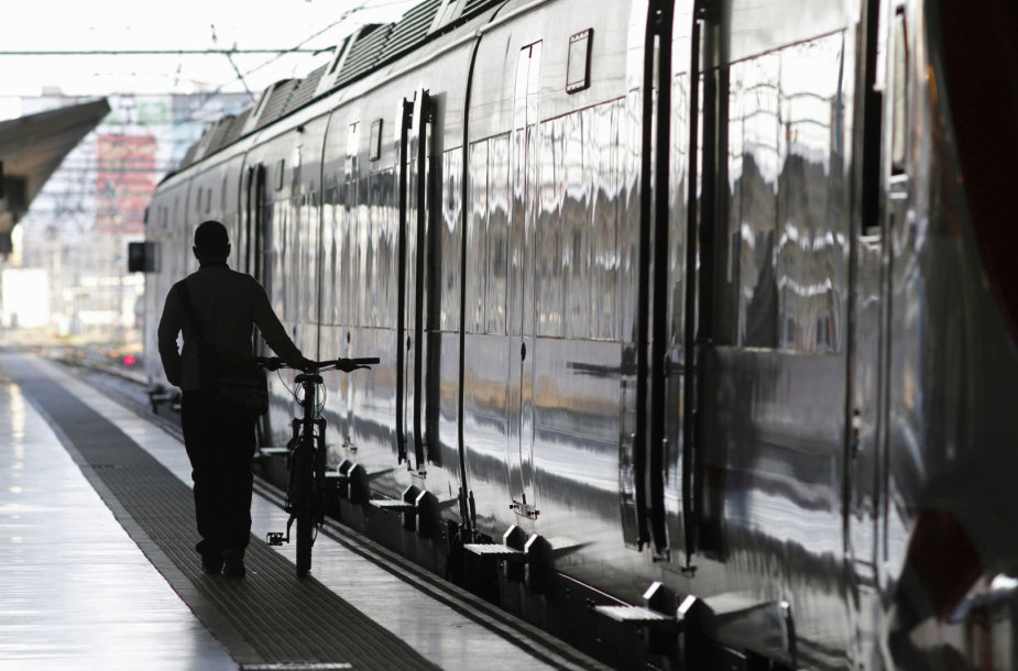 Traukinys Ispanijoje