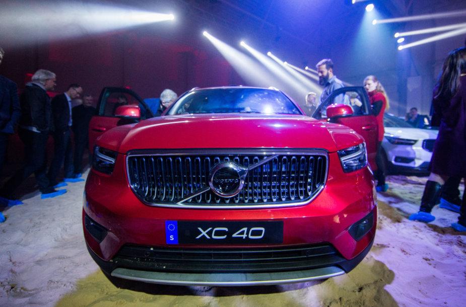"""Volvo XC40"" pristatymas"