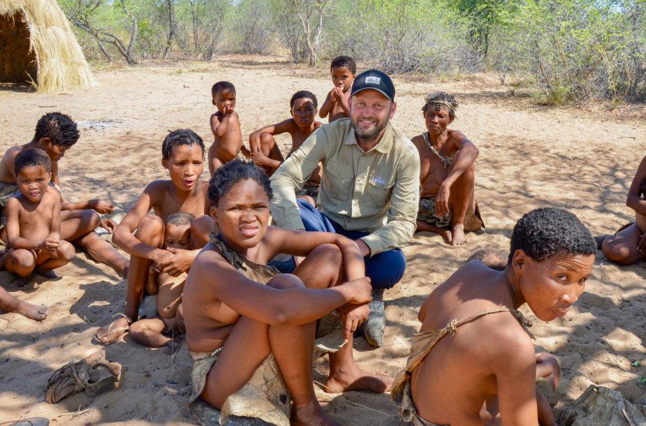 San genties žmonės