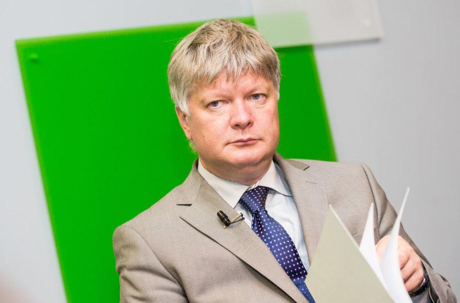15min studijoje — aplinkos ministras Kęstutis Navickas