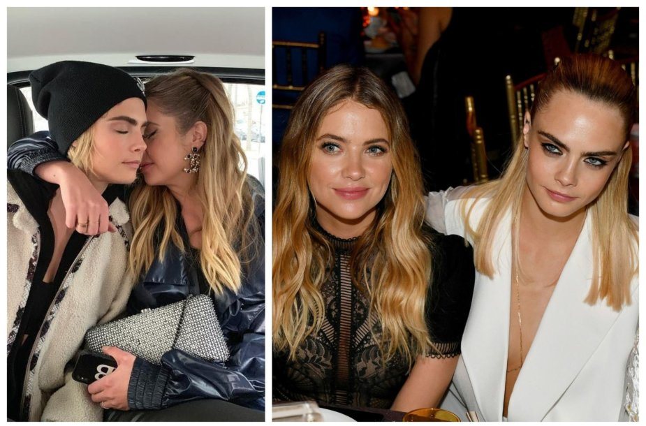Cara Delevingne ir Ashley Benson
