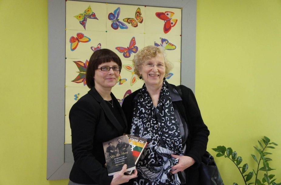 Ellen Cassedy: Drugeliais išpuošta mokykla Lietuvoje