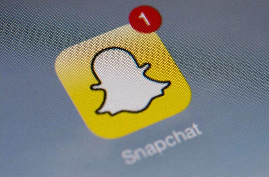 Snapchat logotipas