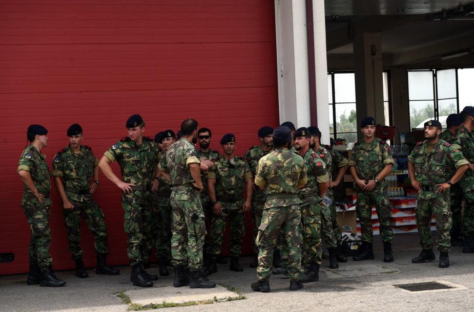 Portugalų kariai