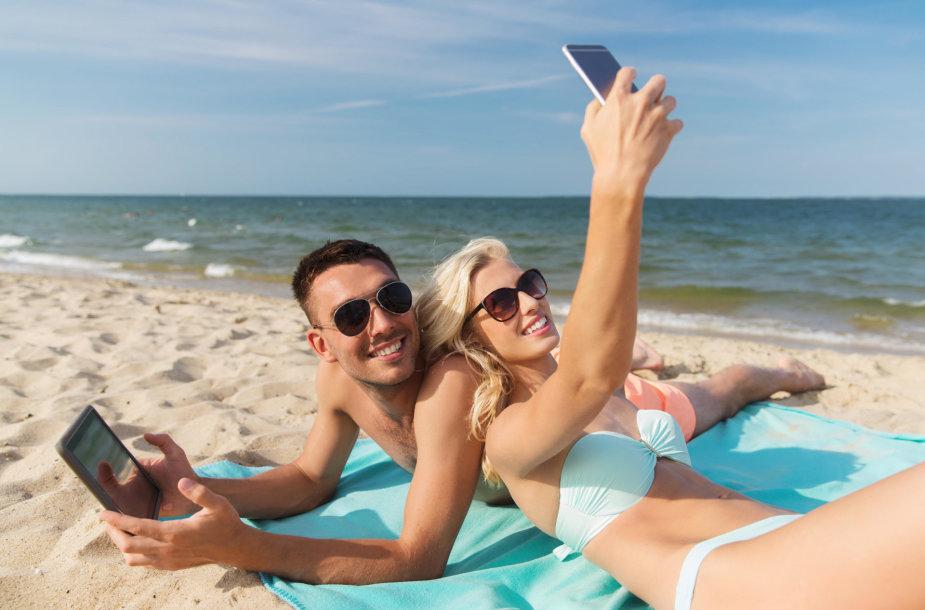 Pora paplūdimyje