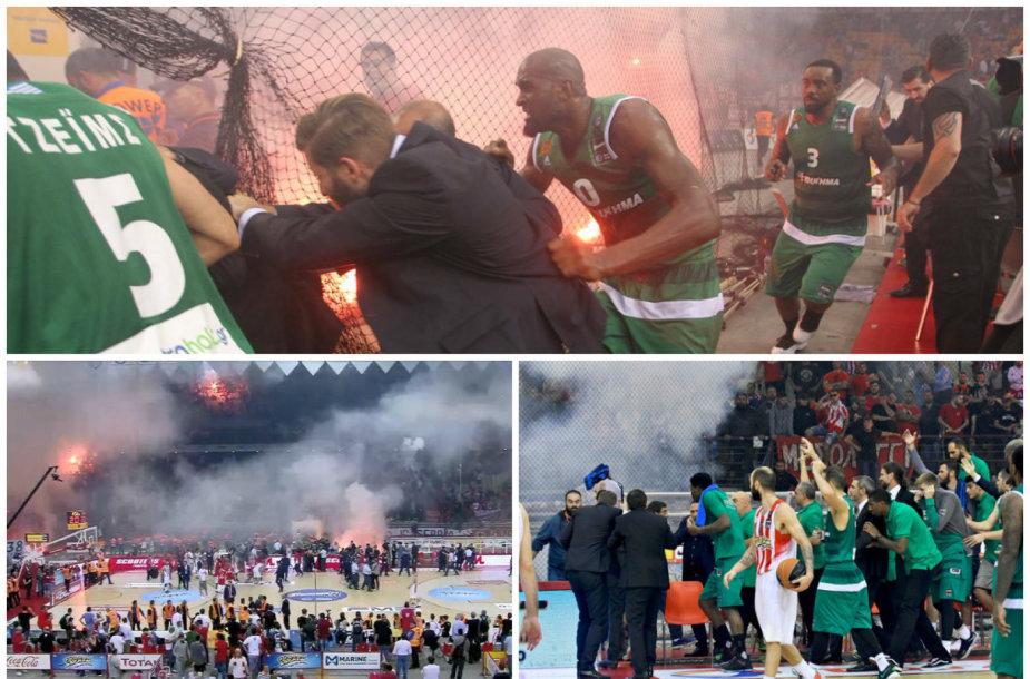 Graikijos krepšinio lygos finalas Pirėjuje