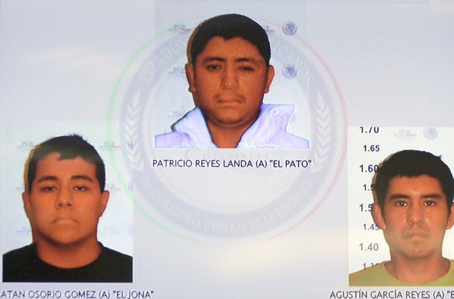 Sulaikytieji dingusių Meksikos studentų byloje
