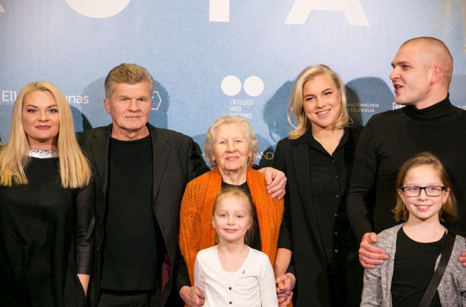 Rūta Meilutytė su šeima