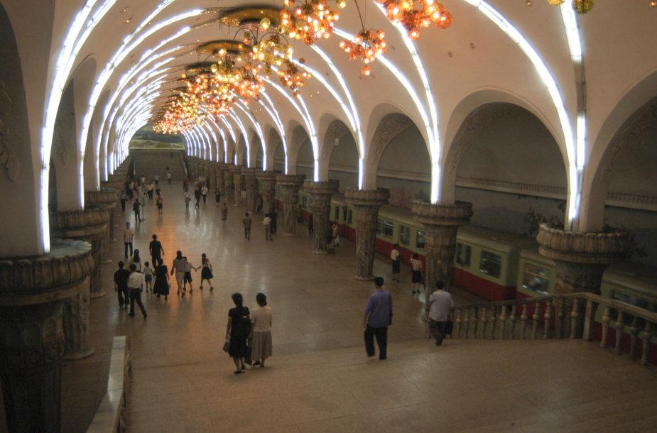 Pchenjano metro stotis