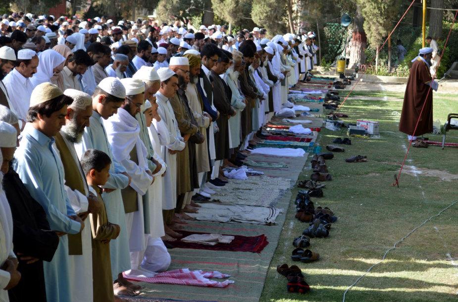 Gedulas Ramadano mėnesio pabaigos šventės Id al Fitros metu