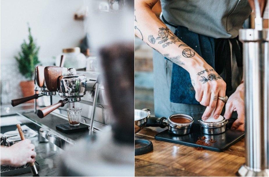 Kavos ruošimas