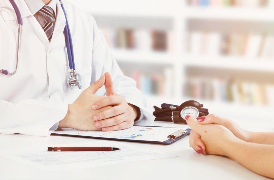 Daktaras ir pacientas
