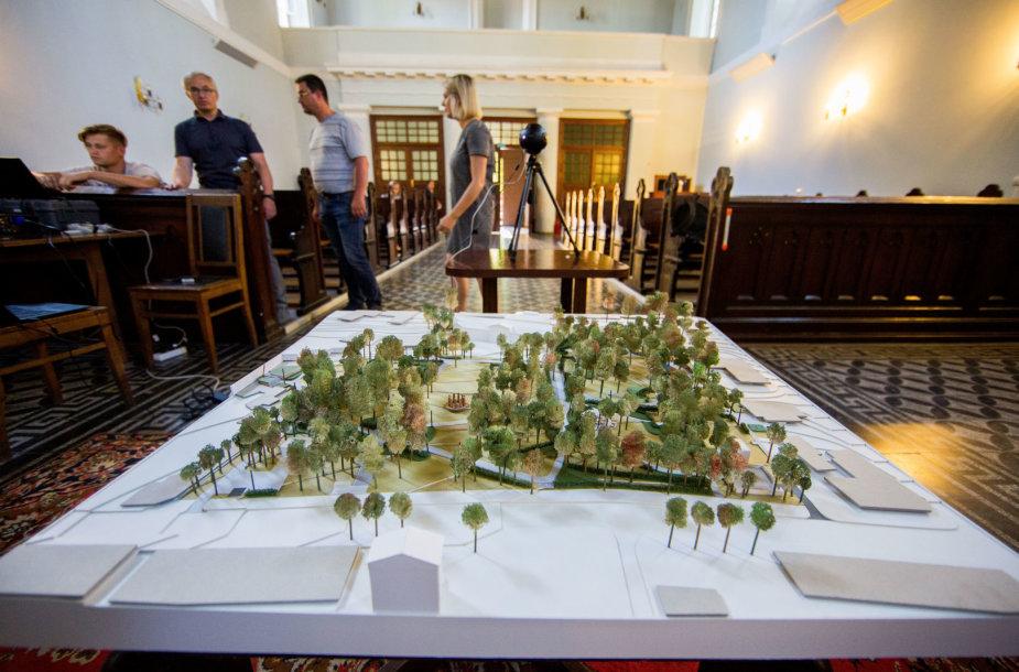 Vilniaus savivaldybės parengto Reformatų skvero plano aptarimas su jo kūrėjais